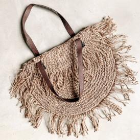 Foldover Bag - Hessian