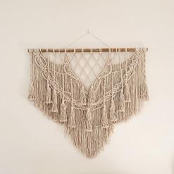 Macrame Wall Hanging - Cream