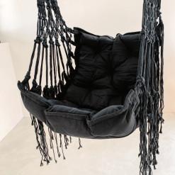 Canggu Hanging Hammock Chair - Black